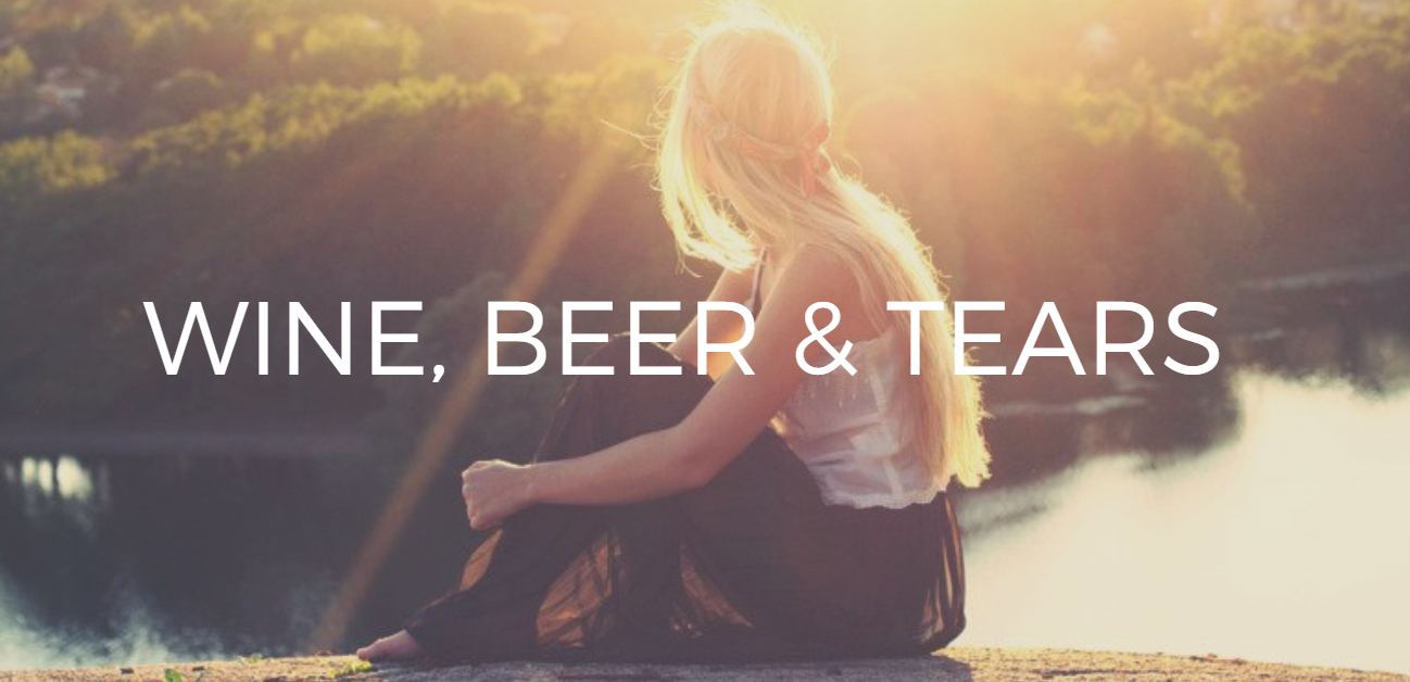 Wine beer and tears header