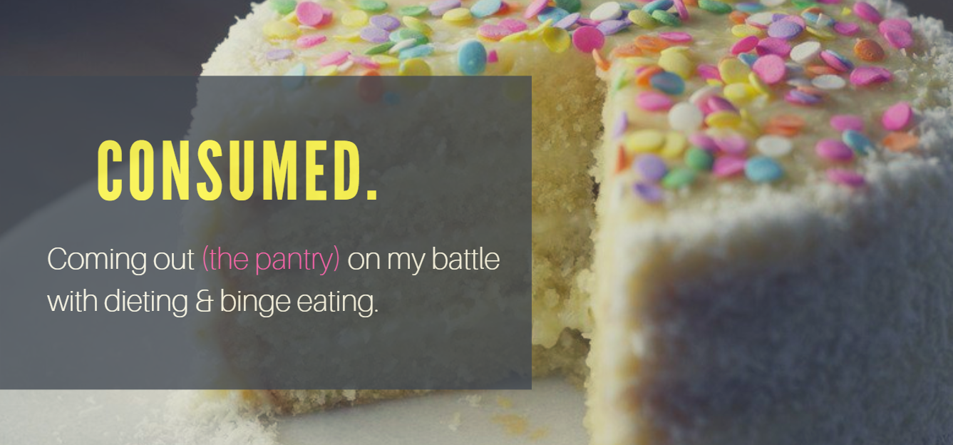 Binge eating and dieting header image